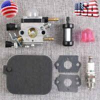 <b>Carburetor Ignition Coil Fuel</b> Filter bulb For Stihl FS120 FS200 ...