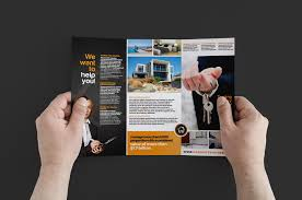 brochure realtor brochure template new realtor brochure template medium size