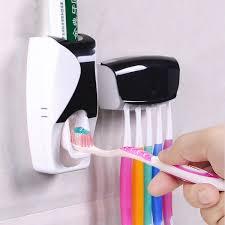 Dispenser <b>Toothpaste</b> Creative <b>Automatic</b> Lazy <b>Plastic</b> Squeezer ...