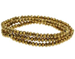 <b>Gold crystal</b> beads | Etsy