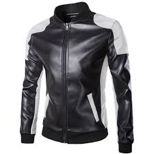 best top 10 motorcycle <b>pu leather jacket men</b> list and get free shipping
