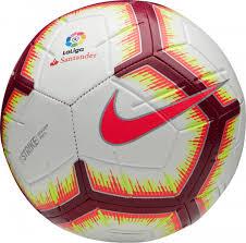 <b>Мяч футбольный Nike</b> La Liga <b>Strike</b> Белый цвет — купить за ...