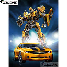 "<b>Dispaint Full Square/Round</b> Drill 5D DIY Diamond Painting ""Car ..."