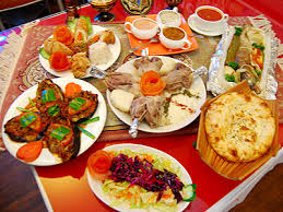 A Feast of Homemade Turkish Food