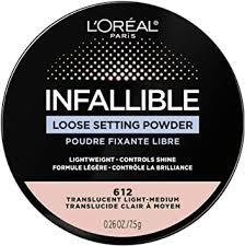 L'Oreal Paris Infallible <b>Tinted Loose</b> Powder, No Flashback ...