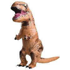 <b>Adult</b> Inflatable Jurassic World <b>T-Rex Halloween</b> Costume One Size ...