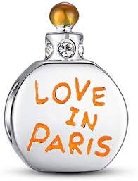 Glamulet Love in Paris Perfume Bottle Charms 925 ... - Amazon.com