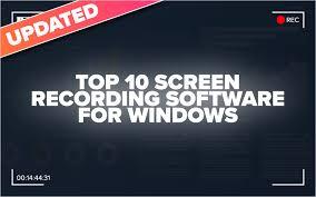 <b>Top</b> 10 <b>Screen</b> Recording Software for Windows | eLearning