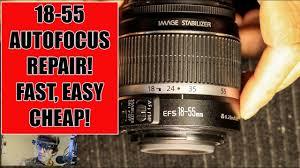 Canon Lens DIY <b>Repair</b>: 18-<b>55MM</b> F3.5-5.6 AutoFocus Not.....