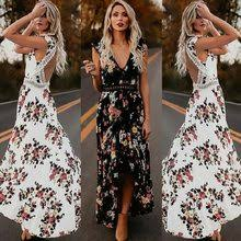 Best value Maxi Dress Print Open Back – Great deals on Maxi Dress ...