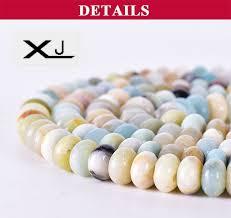 <b>XJ Natural</b> Flats beads amazon Stone Loose abacus beads ...