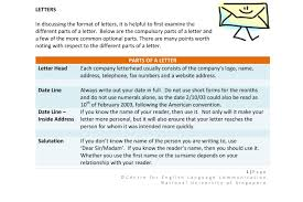 importance of knowing the business letter format business letter format 2017 4