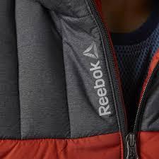 <b>Куртка мужская Outdoor</b>, <b>серая</b> с оранжевым (Reebok 5745.32 ...