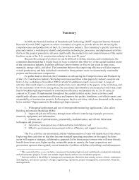 summary advancing the competitiveness and efficiency of the u s page 1