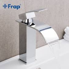 <b>Frap</b> Hot Sale <b>Basin</b> Vanity <b>Sink Faucet Single Handle</b> Waterfall ...