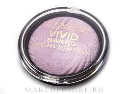 <b>Хайлайтер для лица</b> - Makeup Revolution <b>Vivid</b> Baked Highlighters ...