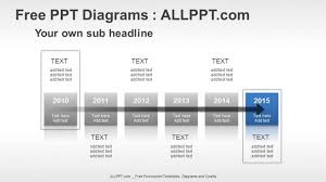 free powerpoint timeline diagrams     years timeline ppt diagrams