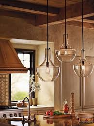 kitchen lighting stunning rustic kitchen featuring beautiful clear glass pendant lights bathroom fans middot rustic pendant