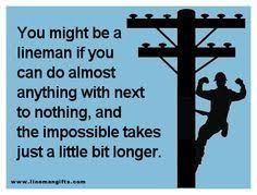 Cool power lineman memes images | selfimagepublications.org via Relatably.com