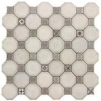 «<b>Керамическая плитка Oset</b> Royal White пол 33х33 (м² ...