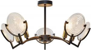 <b>Люстра потолочная TopLight</b> Roxana TL1194X-05BK купить в ...