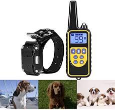 SFLMK Waterproof Pet Dog Cat Collar Rechargeable ... - Amazon.com