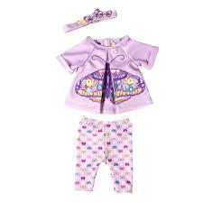 Набор <b>одежды для куклы Zapf</b> Baby Born Бабочка *– купить в ...