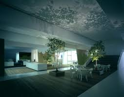 the office itself is just as fun as anything else in the building a tree and grass lined environment with warm hardwood floors indirect lighting and an amazing office design
