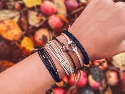 Купить черный <b>плетеный браслет</b>, waf-waf
