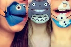 Мультяшный макияж губ - для тех, кому мало обычного <b>аквагрима</b>