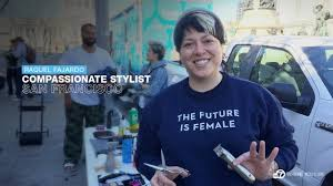 photos meet the stars of abc news com raquel fajardo offers haircutting services for the homeless and anyone in need she calls her