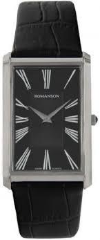 Мужские <b>часы Romanson</b> Gents Fashion <b>TL0390MW</b>(<b>BK</b>)