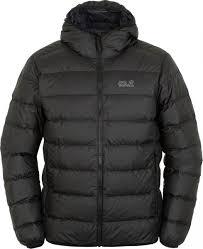 <b>Куртка</b> пуховая мужская Jack Wolfskin <b>Helium</b> черный цвет ...
