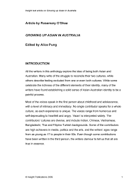 growing up asian in english libguides at assumption insight text article on growing up asian in