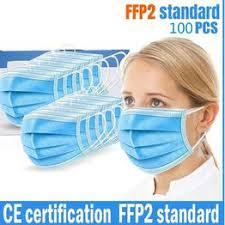10/20/30/40/50/100 PCS FFP2 standard 3-Ply Disposable ... - Vova