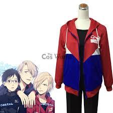 on Ice Jacket Costume Sportswear Gift <b>Fashion Yuri Plisetsky</b> Coat ...
