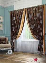 Классические <b>шторы</b> kevin цвет: коричневый <b>томдом</b> из ...