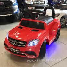 <b>Детский электромобиль</b>-<b>каталка</b> Mercedes GLS 63 с пультом