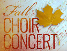 Image result for fall choir concert images