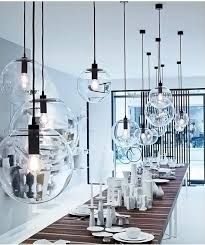 Minimalist <b>Modern Glass Ball Pendant</b> Ceiling Light | Glass pendant ...