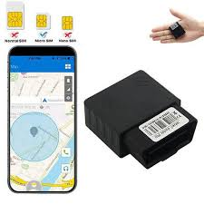 Mini <b>GPS Tracker 16PIN OBD</b> Real-time Tracking Over Speed Anti ...