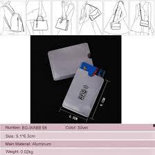 Pmw® - Aluminum Foil <b>Anti</b> - <b>Theft</b> Brush ID <b>Card</b> Protector