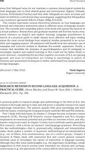 <b>RESEARCH METHODS</b> IN SECOND LANGUAGE ACQUISITION: A ...