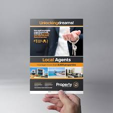 real estate flyer template brandpacks real estate template