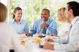 Image result for people having lunch