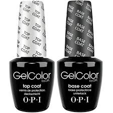 <b>OPI GELCOLOR BASE</b> and TOP COAT DUO 2x15ml | National ...
