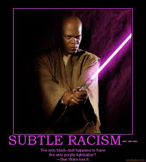 Purple lightsaber | That's Racist! | Know Your Meme via Relatably.com