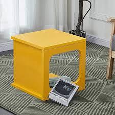 CLIPOP <b>Coffee Table</b> Multi-functional End <b>Side Table</b> High Gloss ...