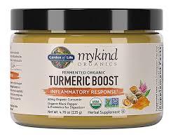 Garden of Life mykind Organics Turmeric Boost Inflammatory ...