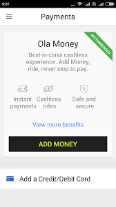 ola cabs app now accepts credit card payments after the ride ola cabs app now accepts credit card payments after the ride chennai buzz